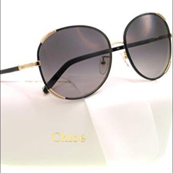 047e71f6ee7a   Chloe   Round Oversized Sunglasses